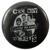 Cockney Rejects  - 'Ready to Ruck' Button Badge